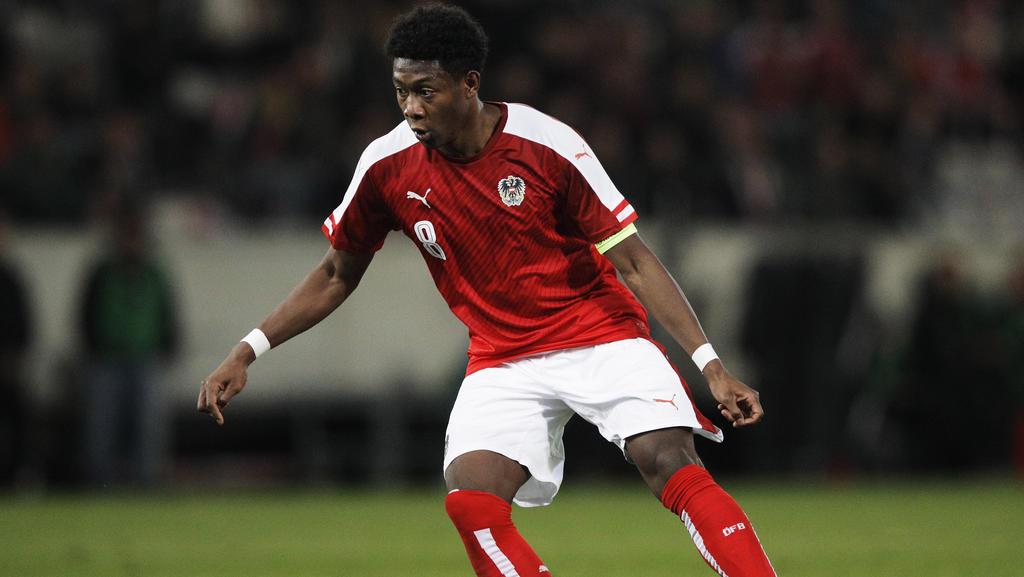 Der Österreicher David Alaba ist fit für das Spiel gegen Polen