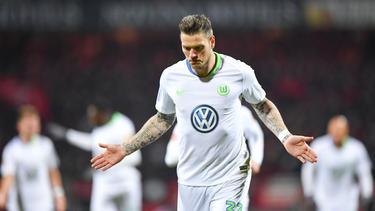Der ehemalige Nürnberger Daniel Ginczek traf an alter Wirkungsstätte für den VfL Wolfsburg