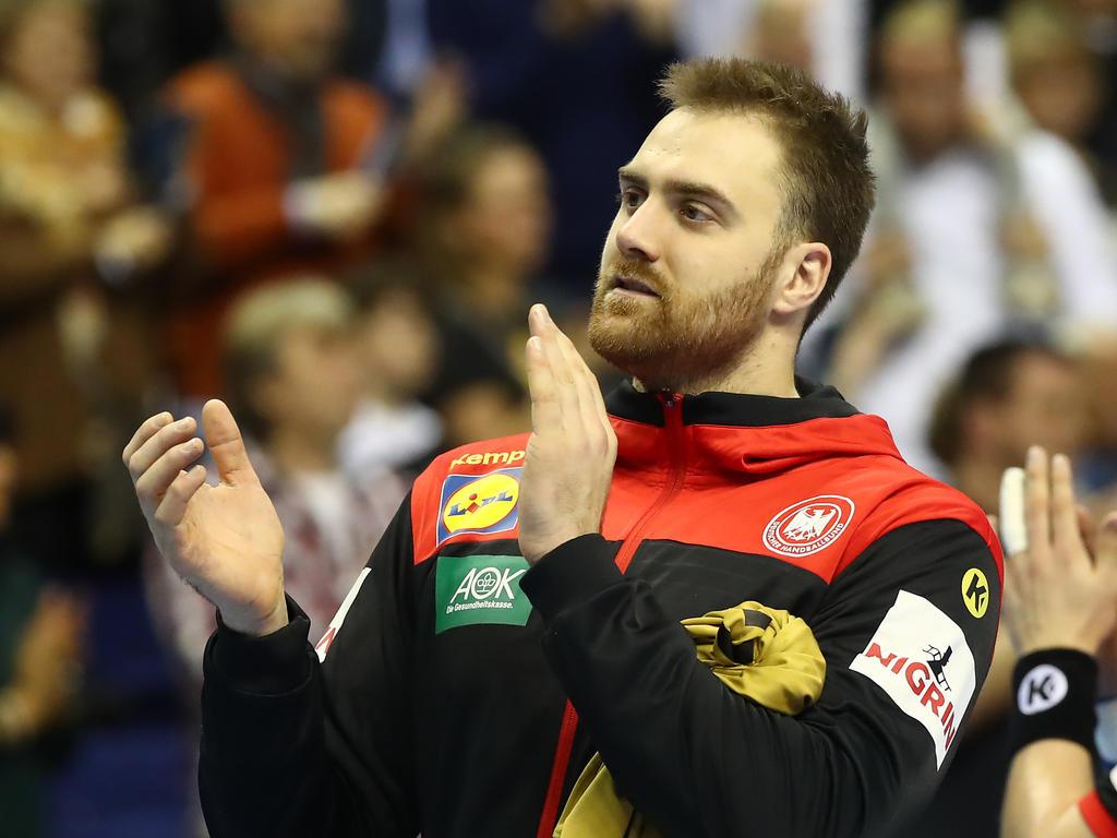 Andreas Wolff wurde zum Spieler des Spiels gewählt