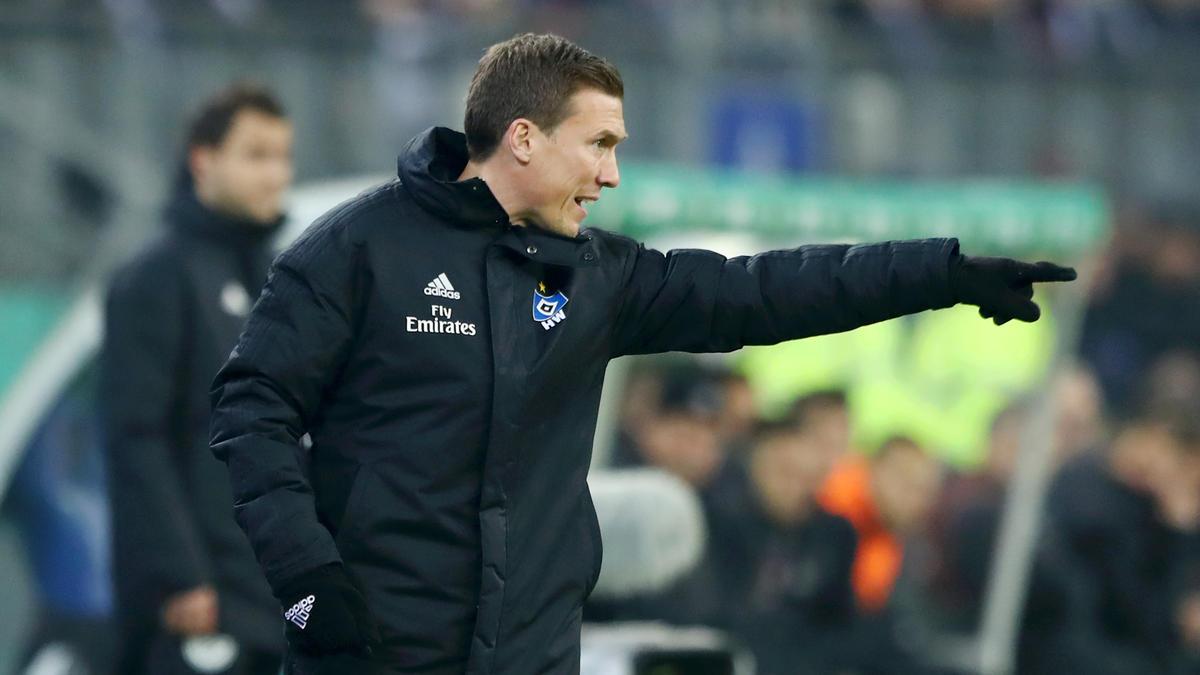 Hannes Wolf empfängt mit dem HSV am Montagabend Dynamo Dresden