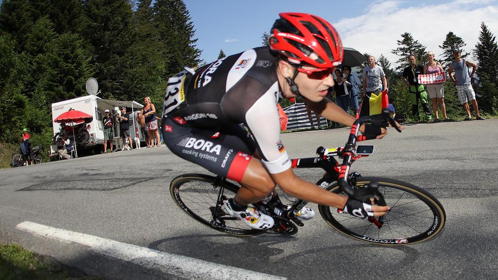Emanuel Buchmann sicherte sich den vierten Platz
