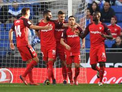 El Sevilla vuelve a sumar de a tres en LaLiga. (Foto: Getty)