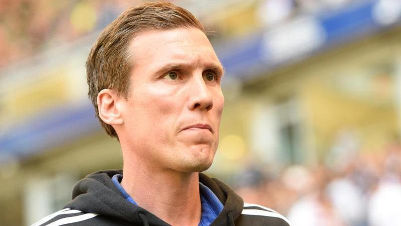 Sieht sein Team gegen RB Leipzig in der Außenseiterrolle: HSV-Coach Hannes Wolf