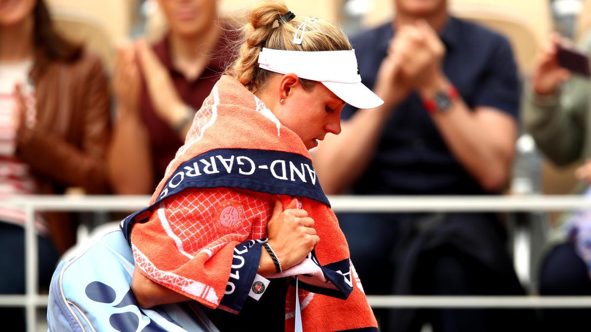 Angelique Kerber schied bei den French Open in der 1. Runde aus
