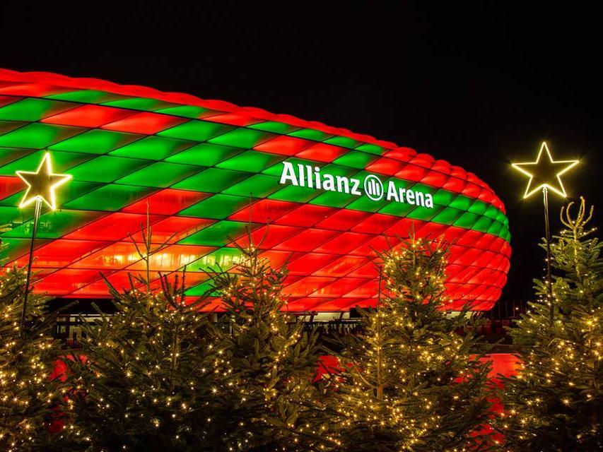 Amerikanische Weihnachtsgrüße.So Feiern Die Bundesliga Klubs Weihnachten Im Netz