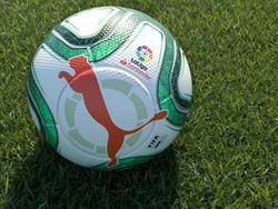 Imagen del nuevo balón oficial de LaLiga.
