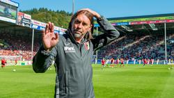 Martin Schmidt trifft mit dem FC Augsburg auf den VfL Wolfsburg