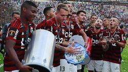 Die Stars von Flamengo bejubeln den Titel