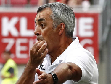 Robin Dutt peilt mit dem WAC den ersten Sieg in der Bundesliga an