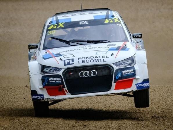 Enzo Ide wird ein Audi S1 Supercar in der Rallycross-EM fahren