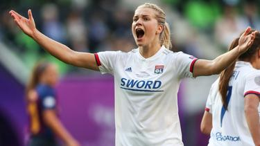 Ada Hegerberg vom Champions-League-Sieger Olympique Lyon