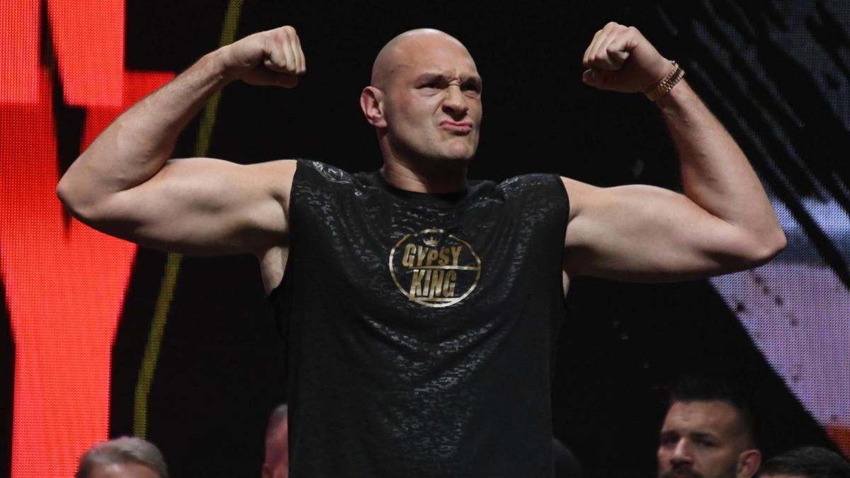 Tyson Fury ist heiß auf den WM-Fight gegen Anthony Joshua