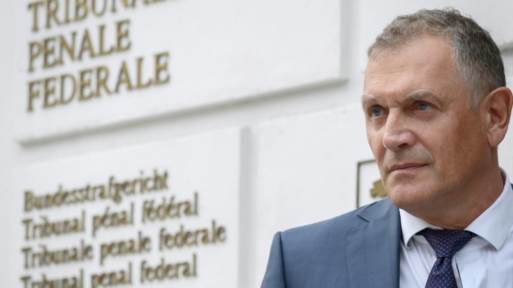 Zum Prozessauftakt präsentierte sich Jerome Valcke als Geschädigter