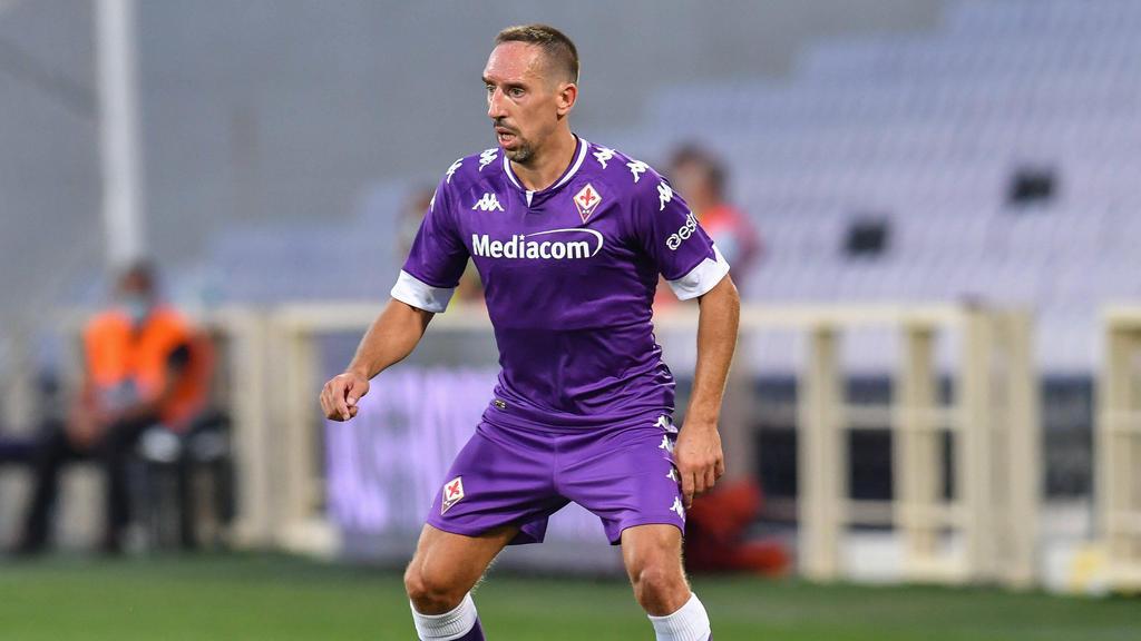 Franck Ribéry gewann mit der Fiorentina gegen Turin
