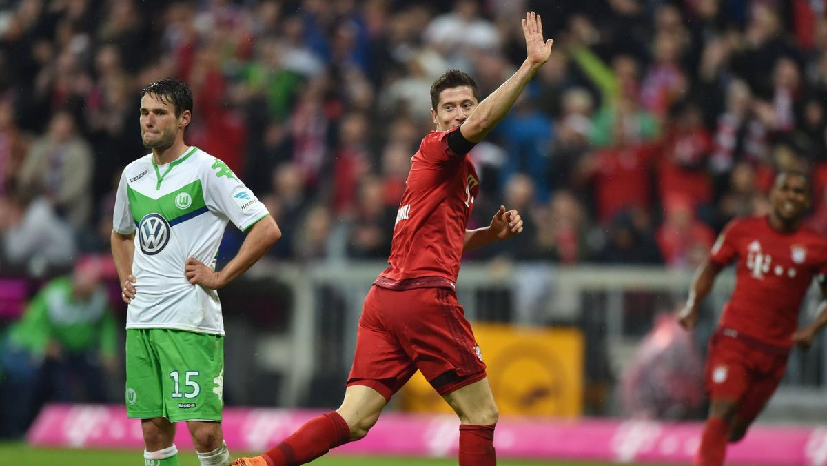 Robert Lewandowski erlebte im September 2015 mit dem FC Bayern einen magischen Abend