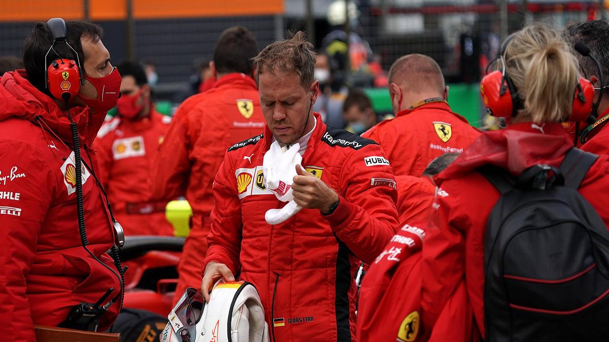Sebastian Vettel fand auch am Nürburgring keinen Weg aus der Krise
