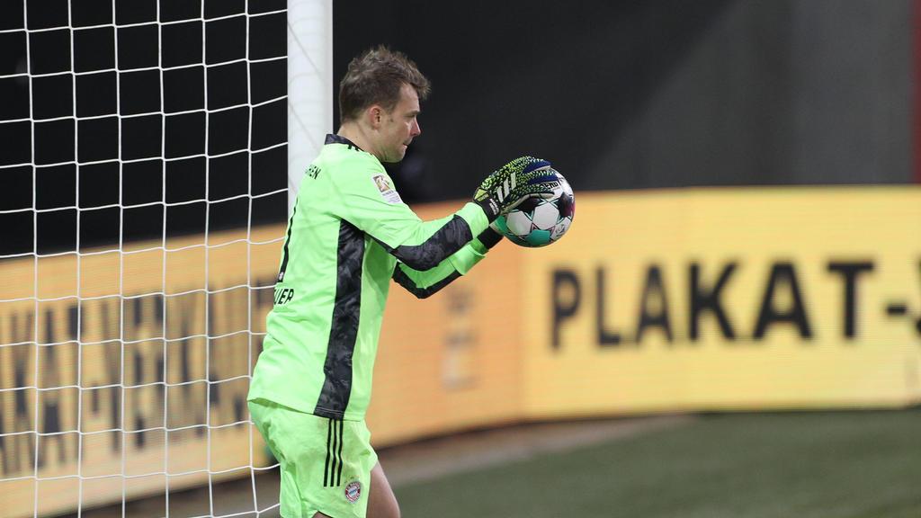 Darf sich über einen Rekord freuen: Manuel Neuer vom FC Bayern