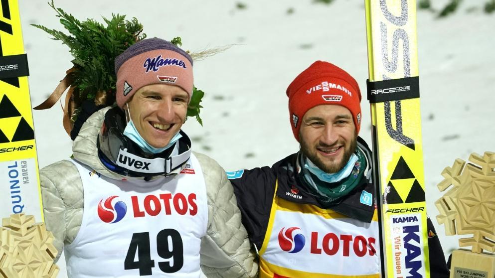 Eisenbichler und Geiger führen das Skisprung-Team an