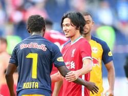 Besuch bei Freunden: Liverpools Takumi Minamino