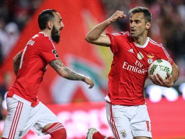 Con goles de los brasileños Jonas (19) y Jardel (24) el Benfica ganó. (Foto: Imago)