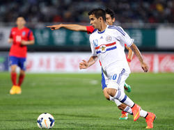 Derlis convirtió a los 71 minutos de penal el gol que significó el empate 1-1. (Foto: Getty)