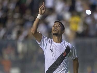 Yago Pikachu marcó el segundo gol del Vasco Da Gama. (Foto. Imago)