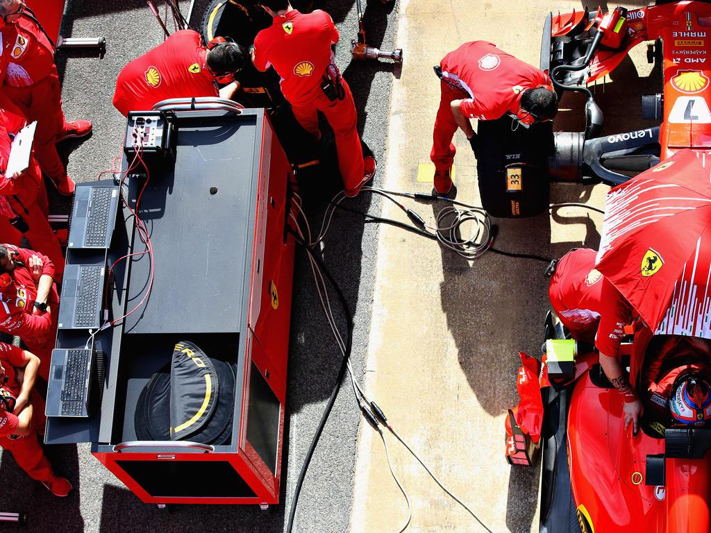 Ferrari hat nach den Testeindrücken einen großen Rückstand auf Mercedes