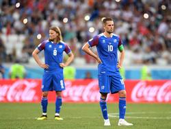 Das hatten sich die isländischen Spieler anders vorgestellt