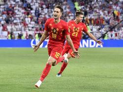 Januzaj, delantero de la Real Sociedad, marcó un golazo contra Inglaterra. (Foto: Getty)