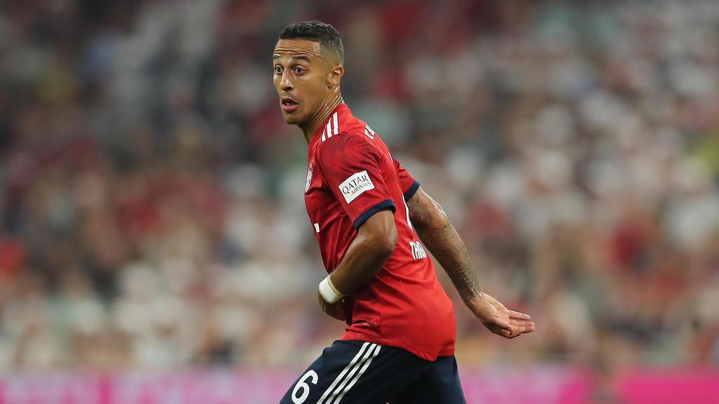 Thiago könnte den FC Bayern verlassen