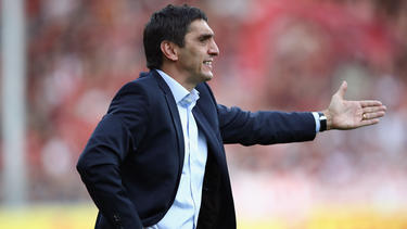 VfB-Coach Tayfun Korkut ist trotz des Remis' guter Dinge