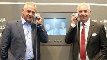 Helmut (l.) und Erwin (r.) Kremers haben Kultstatus