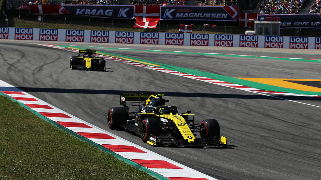 Renault fährt in der Formel 1 bislang hinterher