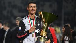 Cristiano Ronaldo gewann mit Juventus die Meisterschaft