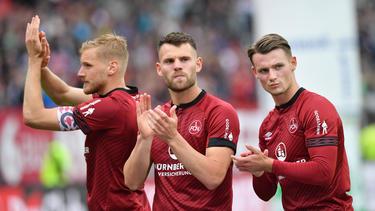 Eduard Löwen (M.) steht angeblich vor einem Wechsel zum 1. FC Nürnberg