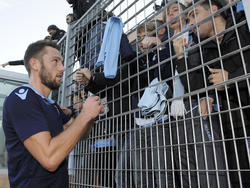 Stefan de Vrij von Lazio steht angeblich auf dem Zettel des BVB