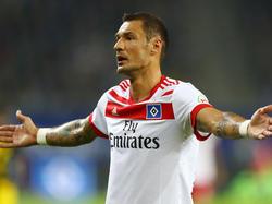 Sejad Salihović kehrte verletzt zum HSV zurück