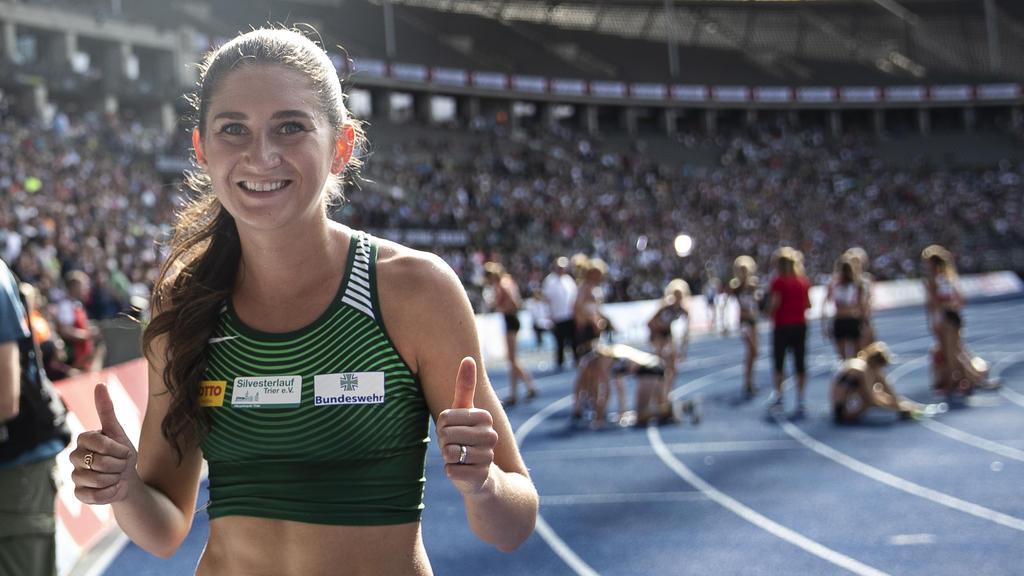 Hindernis-Europameisterin Gesa Krause hat bei der Team-EM im polnischen Bydgoszcz ihr Rennen in 9:36,67 Minuten gewonnen