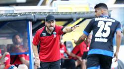 Sah als erster Trainer in der Bundesliga die Gelbe Karte: Paderborn-Coach Steffen Baumgart