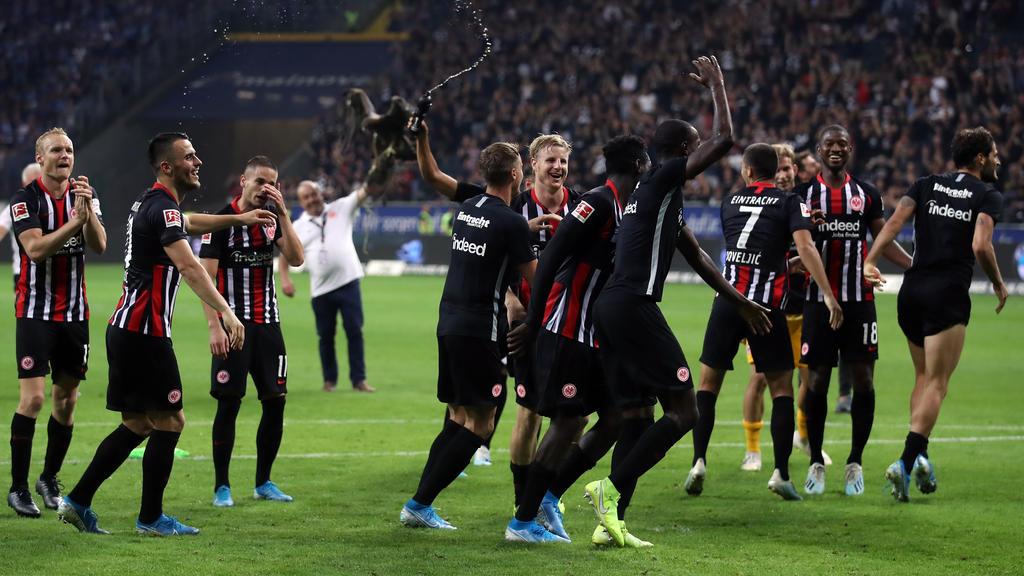 In Europa nicht mehr der Underdog: Eintracht Frankfurt