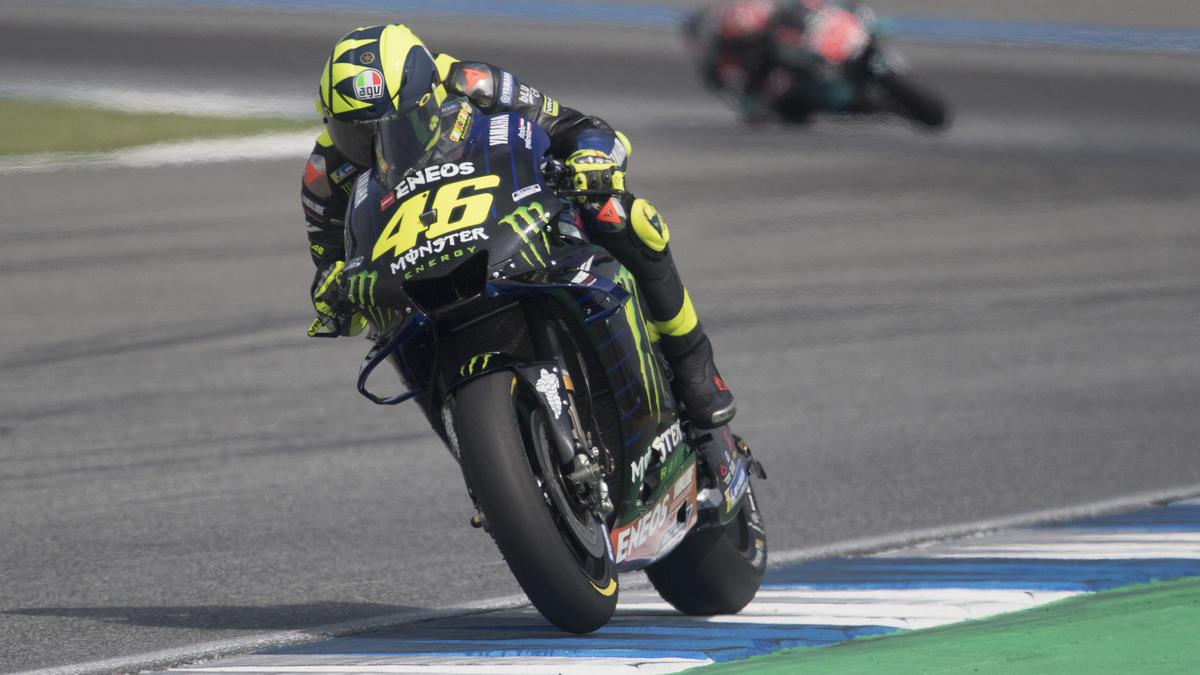 Valentino Rossi setzt wohl auf eine neue Bremstechnik