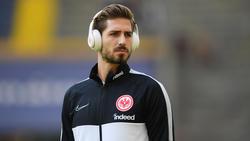 Für Kevin Trapp von Eintracht Frankfurt ist die Hinrunde gelaufen