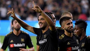 Carlos Vela (m.) ist der wertvollste Spieler in der MLS