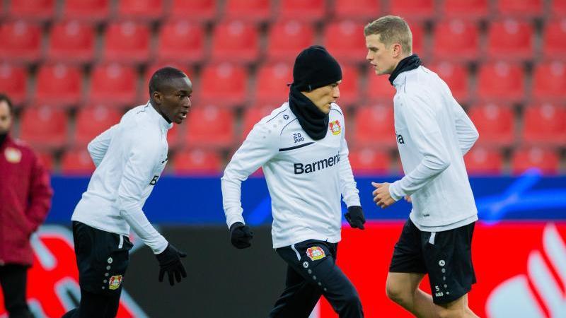Bayer Leverkusen hofft aufs Weiterkommen in der Champions League