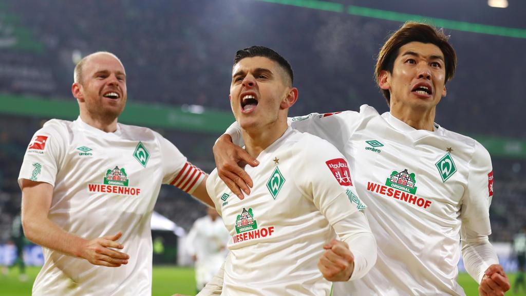 Werder Bremen schlägt den VfL Wolfsburg