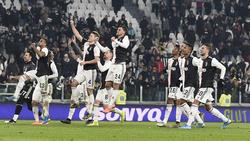 Juventus ist im Pokal eine Runde weiter