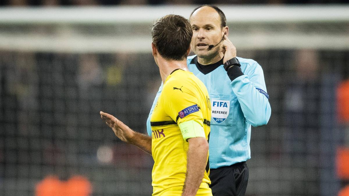 Antonio Mateu Lahoz hat bereits drei Spiele des BVB gepfiffen