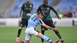 La Lazio se ha visto beneficiada por el coronavirus.