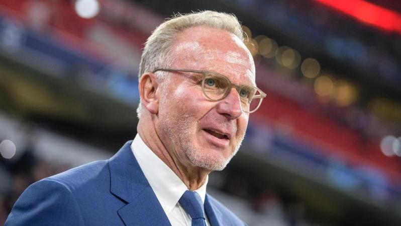 Erwartet sinkende Ablösesummen auf dem Fußball-Transfermarkt: Bayern-Boss Karl-Heinz Rummenigge