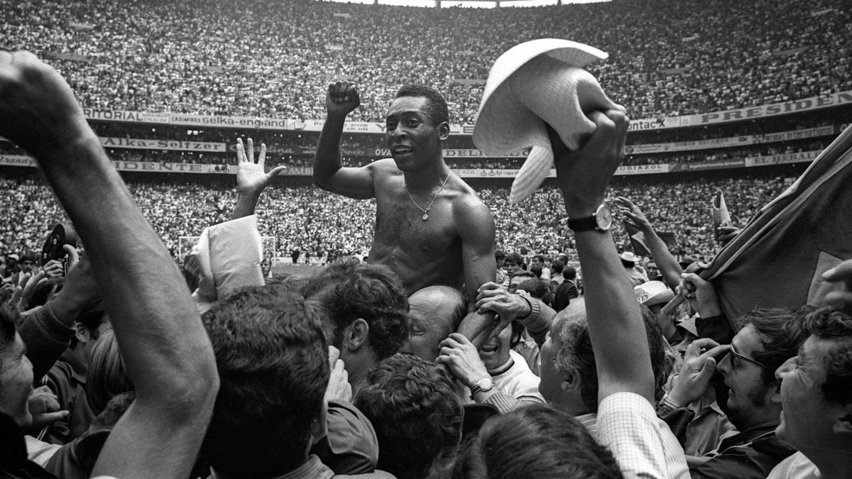 Gewann 1970 zum dritten Mal die WM: Pelé